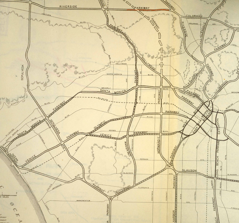1943 - REPORTS - Freeways For The Region