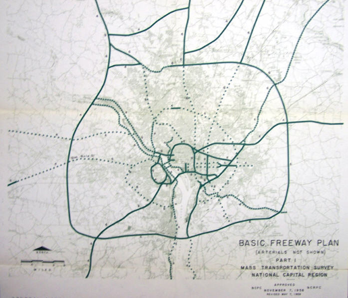 Basic Freeway Plan 1958
