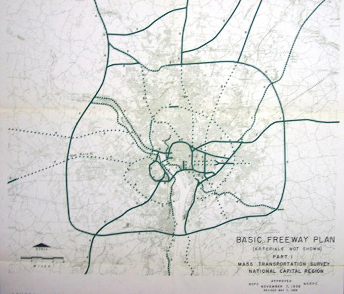 Basic Freeway Plan 1958
