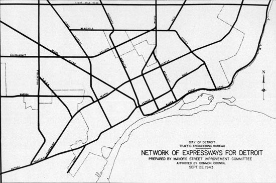 detroit plans - 1943